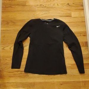 Nike dri-fit cotton long-sleeved T